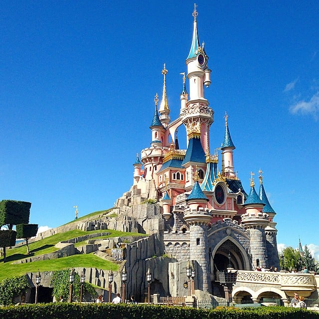 The prettiest castle award goes to . . .