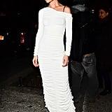 Katie Holmes Wearing Khaite in New York City