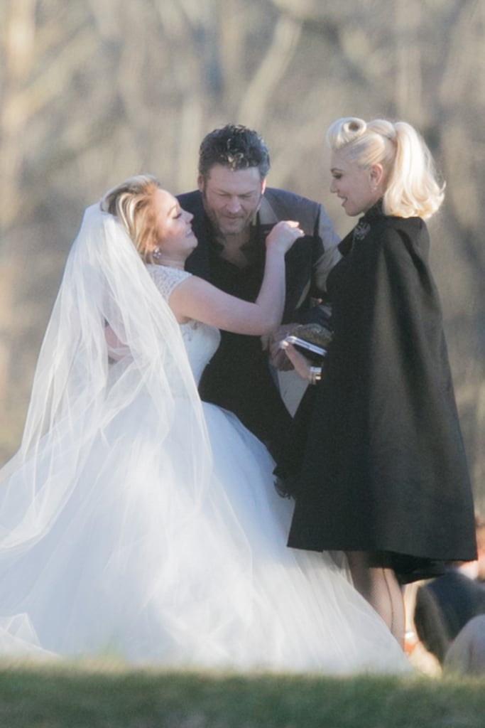 Gwen Stefani Wedding Dress Fashion Dresses