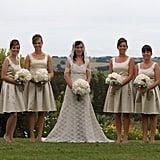 '50s-Inspired Bridesmaids Dresses