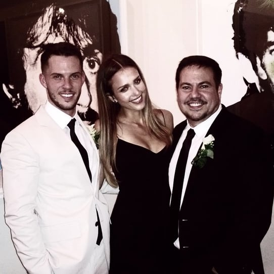 Jessica Alba Instagrams Narcisco Rodriguez's Wedding