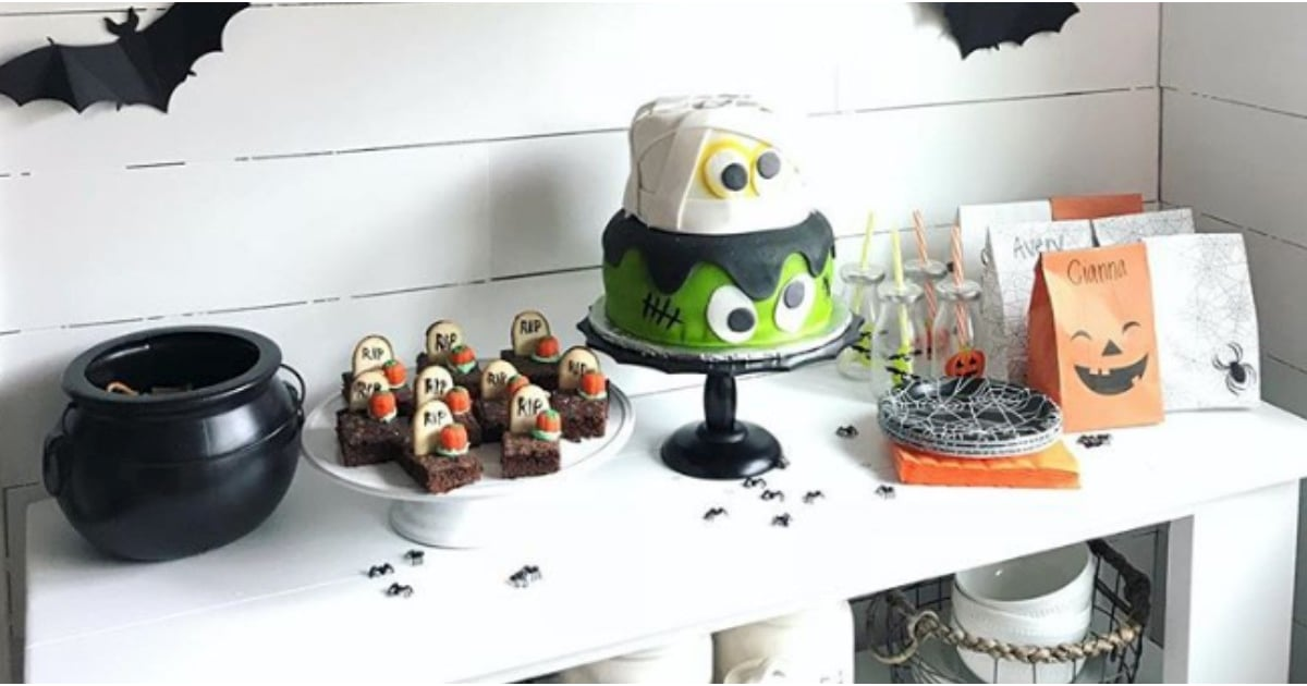 halloween birthday party ideas for kids popsugar family
