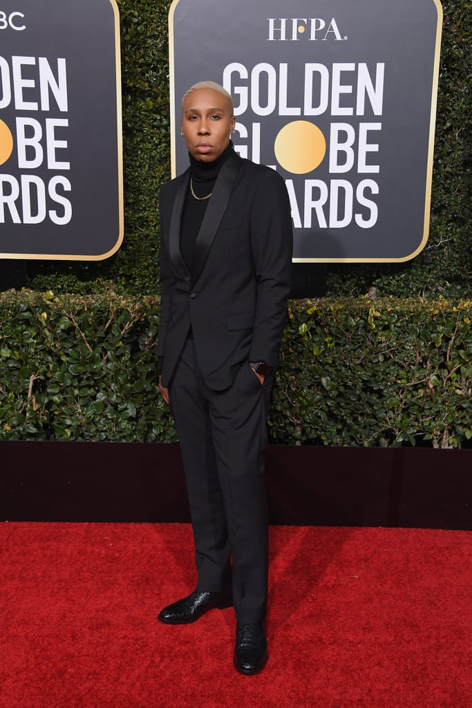 Lena Waithe at the 2019 Golden Globes