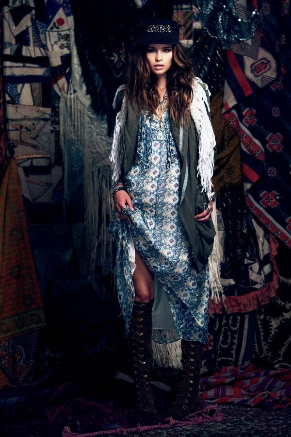 Free People's Fall Will Have Even the Preppy Set Feeling Boho-Luxe