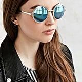 Both Worlds Round Sunglasses ($18)