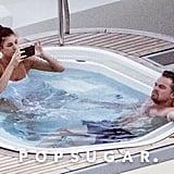 Leonardo DiCaprio and Camila Morrone Kissing in Italy 2019