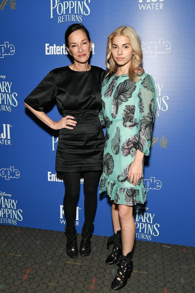 Cynthia Rowley and Kit Keenan at 2018 Screening of Mary Poppins Returns