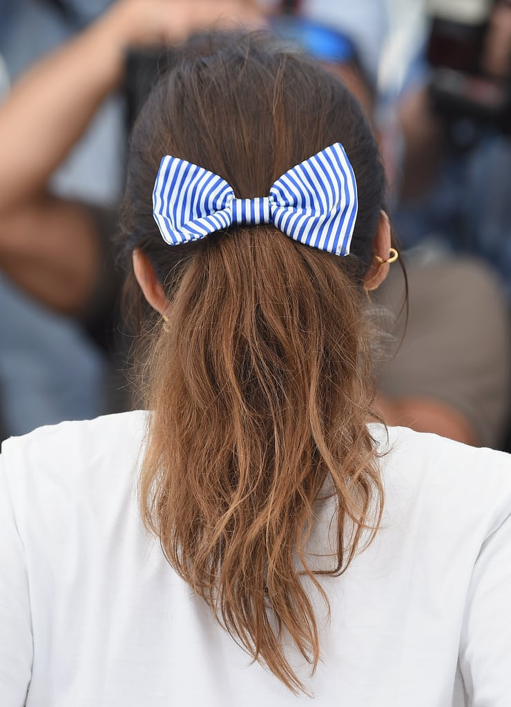 The classic bow serves as the perfect ode to our school girl days.