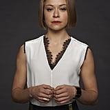Tatiana Maslany as Rachel.  Source: BBC