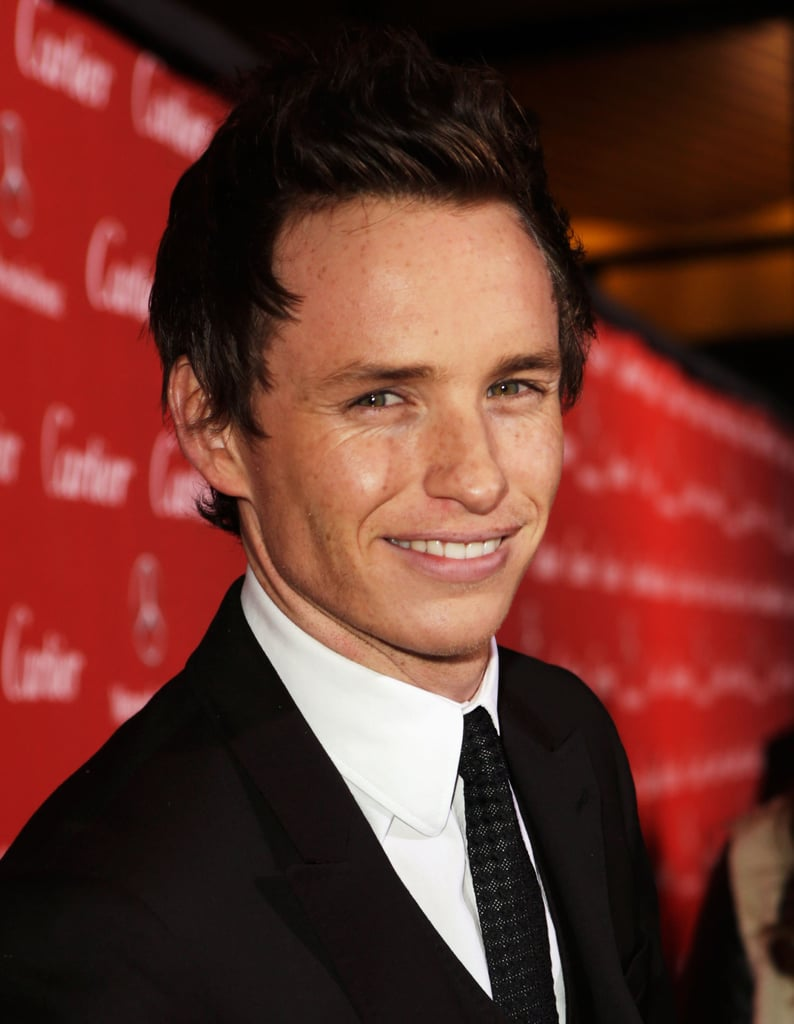 Eddie Redmayne made his way down the red carpet.