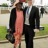 Marjorie Jones and Sir Philip Treacy were dapper at the event.