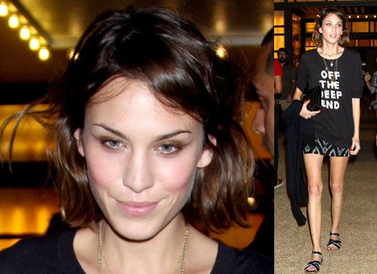Photos of Alexa Chung in New York City Plus Watch Video Of Trinny Woodall and Susannah Constantine on The Alexa Chung Show