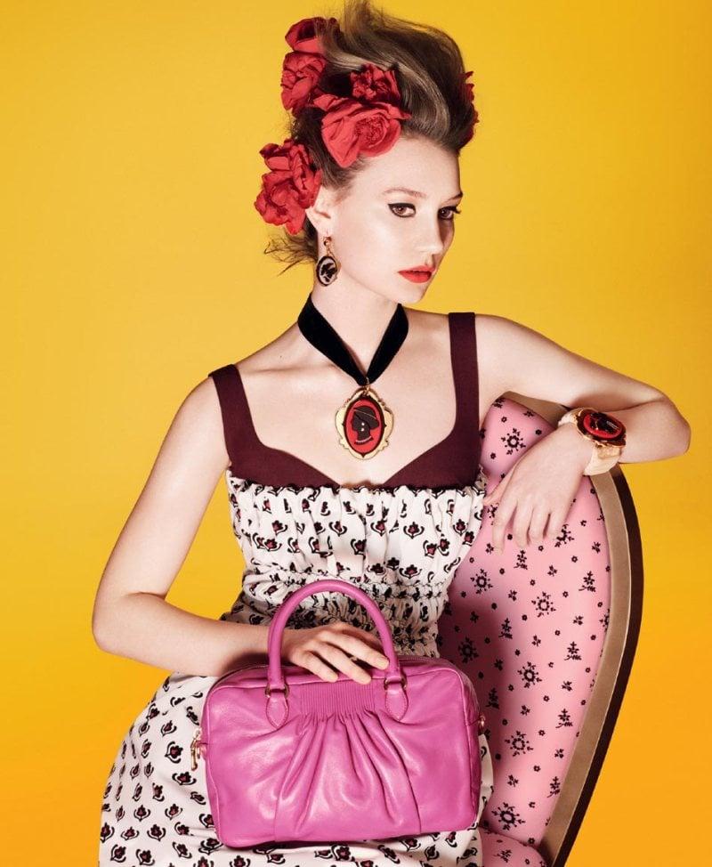 Miu Miu Spring 2012 Ad Campaign