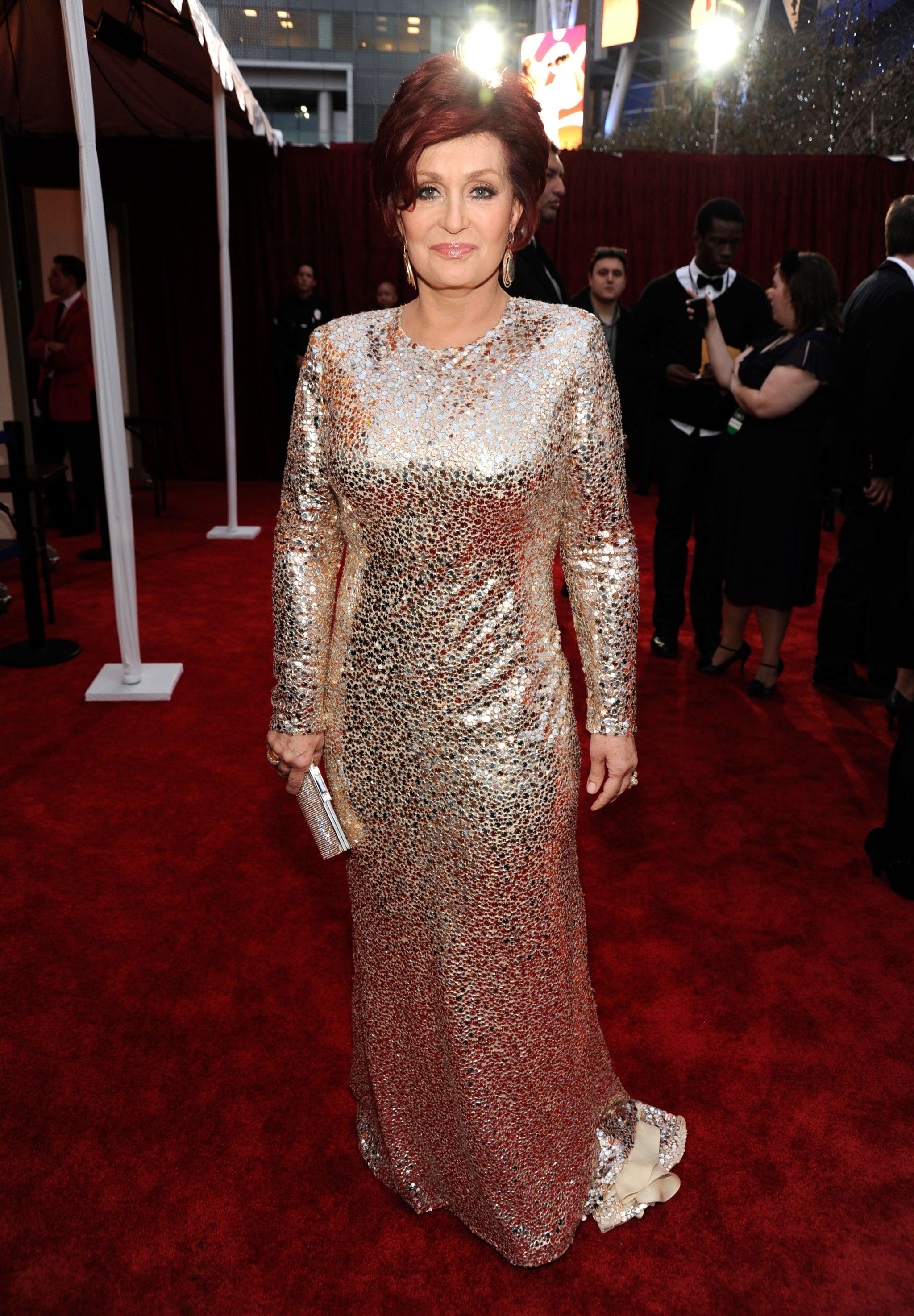 Sharon Osbourne at the People's Choice Awards.