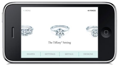 Tiffany & Co. Engagement Ring App 2010-06-14 09:53:35