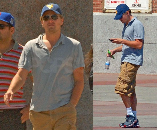 Photos of Leonardo DiCaprio in Spain, Rumored to Have Partied With Ashley Roberts While Bar Parties With New Man