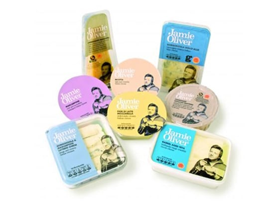 Celebrity Chef Jamie Oliver Launches New Cheese Line