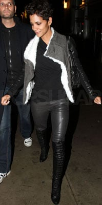 Halle Berry Wears Helmut Lang