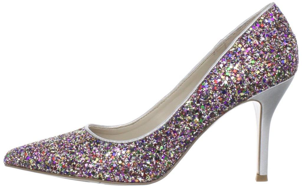 Nine West Glitter Heels
