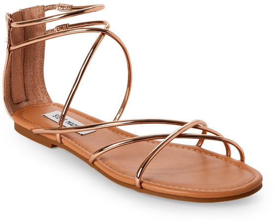 Steve madden rose gold sapphire strappy flat sandals beach steve madden rose gold sapphire strappy flat sandals junglespirit Choice Image