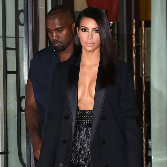 Kanye Is Flashing More Skin Than Kim . . . Seriously!