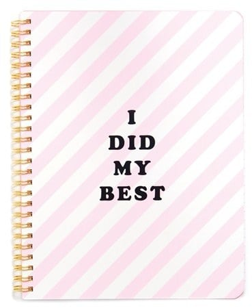 """BAN.DO """"Rough Draft — I Did My Best"""" Notebook (£7)"""