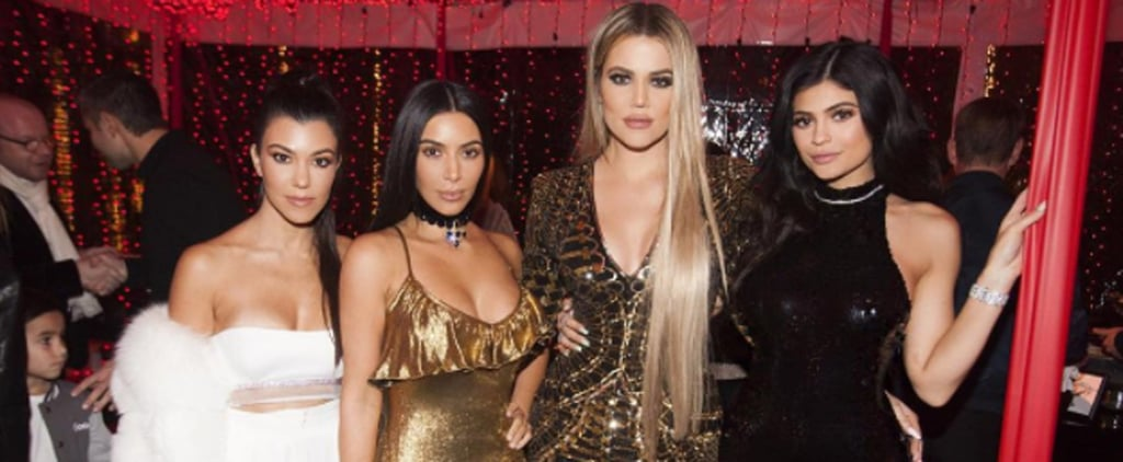 Kim Kardashian Pops Up at Kris Jenner's Annual Christmas Eve Party