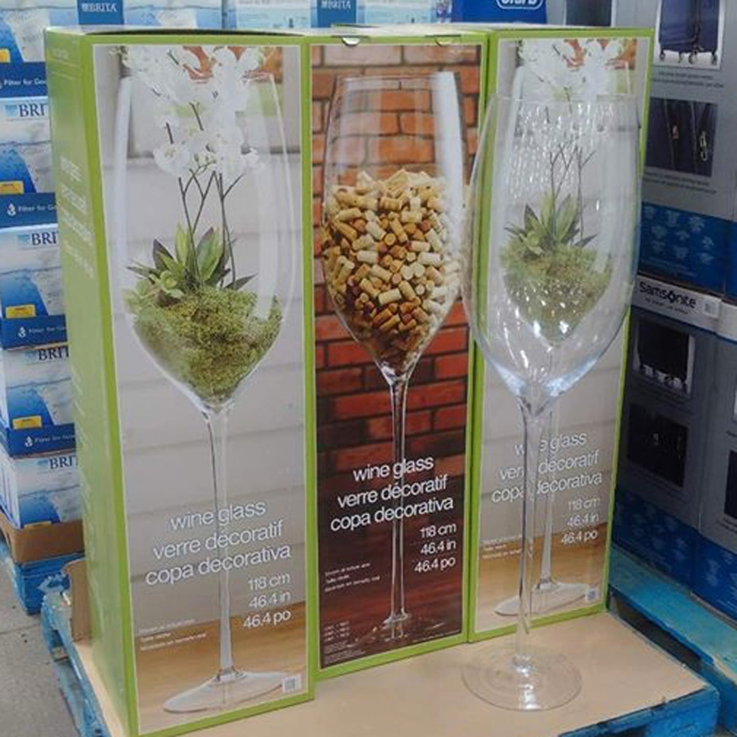 Costcos Large Wine Glass Popsugar Family