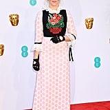 Edith Bowman at the 2019 BAFTA Awards