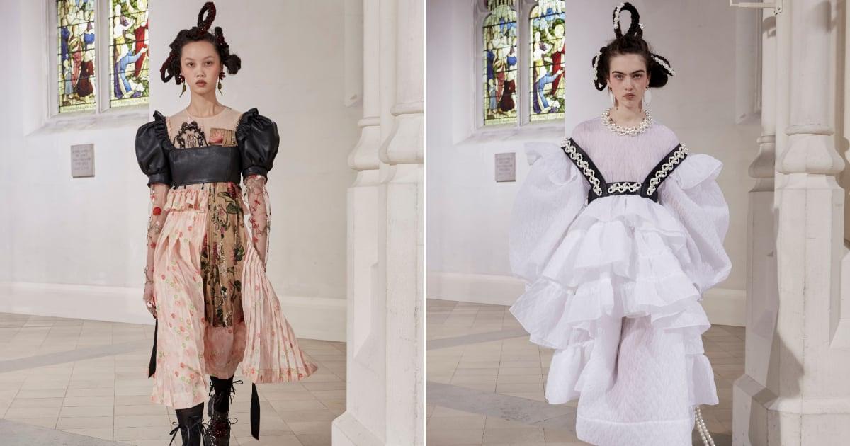 Simone Rocha's fall 2021 collection features Bridgerton-inspired romance..jpg