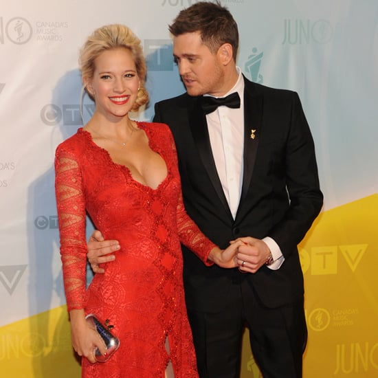 Michael Buble and Luisana Lopilato at Juno Awards 2013