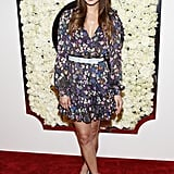 Jamie Chung showed off her sweet style in a belted floral dress at QVC's Buzz on the Red Carpet party. Her are some more ways to style your floral looks.