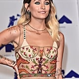 Paris Jackson Wasn't Afraid to Expose It All in a Sheer Dress at the VMAs
