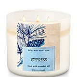 Cypress candle ($25)