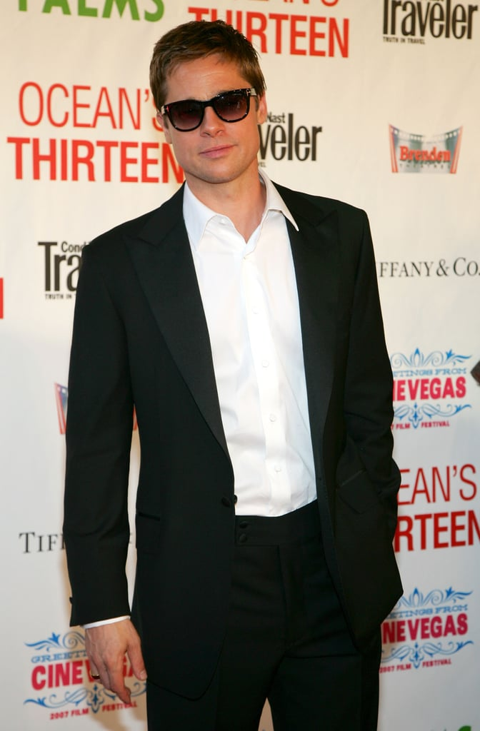 He looked cool, calm, and collected in a pair of shades at the Ocean's Thirteen Las Vegas Screening in June 2007.