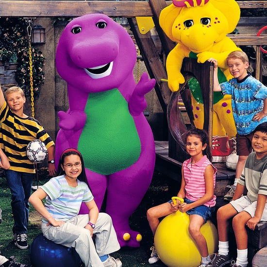 Selena Gomez and Demi Lovato on Barney Video