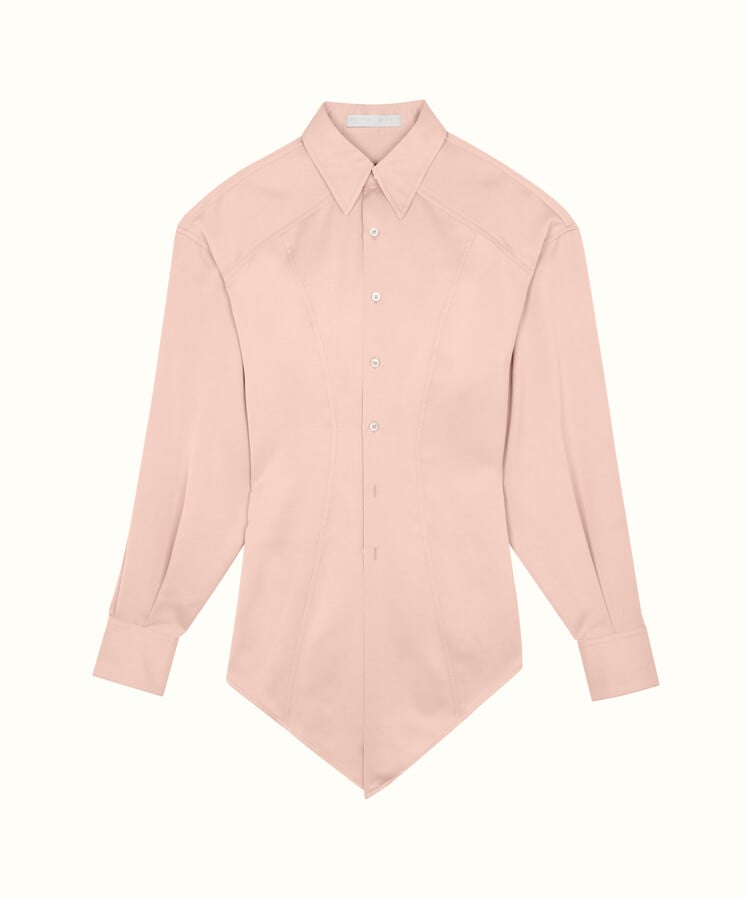 outlet store 0a46e bafc4 Fenty Pointy Shirt | Rihanna Fenty Fashion Label | POPSUGAR ...