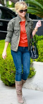 Reese Witherspoon Style 2010-10-24 09:00:00