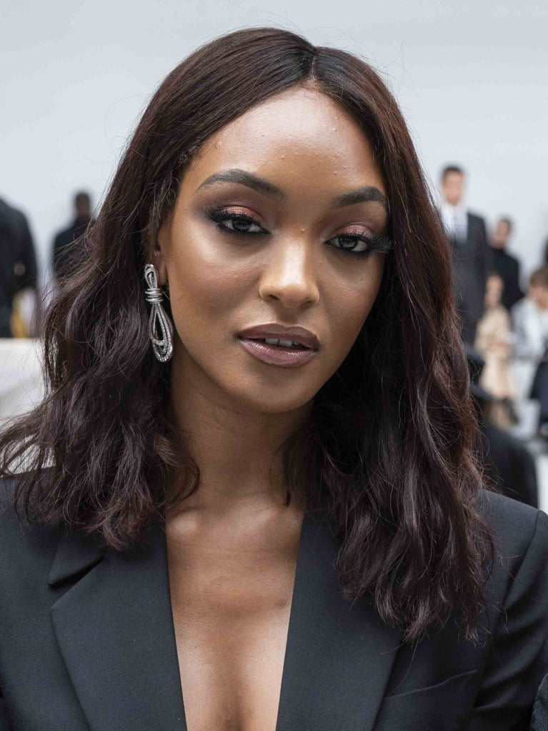 Jourdan Dunn's Soft Burgundy Lids
