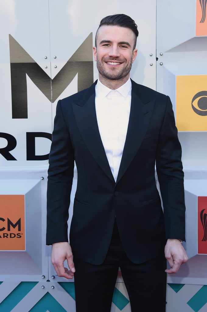 "Sam Hunt was all smiles when he arrived at the Academy of Country Music Awards in Las Vegas on Sunday. The country heartthrob made a dapper appearance on the red carpet before making his way inside the MGM Grand Garden Arena, where he took the stage for an incredible performance. Unfortunately, Sam did not take home any trophies, but he was nominated for single of the year for his hit song ""Take Your Time,"" as well as album of the year. Keep reading to see more of Sam's night, and then check out 29 sexy photos of him that are guaranteed to make you a country music fan."