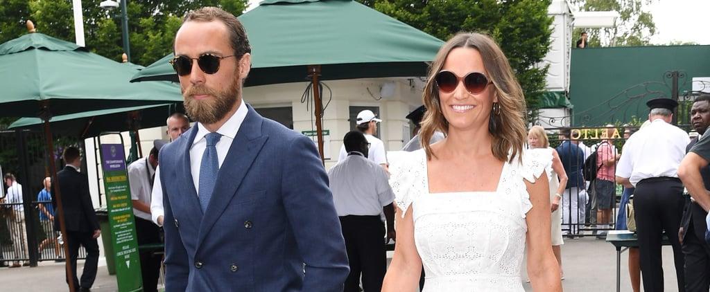 Pippa and James Middleton at Wimbledon July 2018