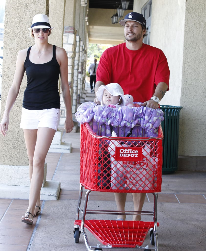 Victoria Prince and Kevin Federline took daughter Jordan on an Office Depot run in LA.