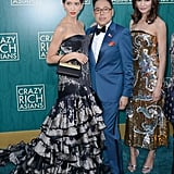 Pictured: Sonoya Mizuno, Nico Santos, and Gemma Chan