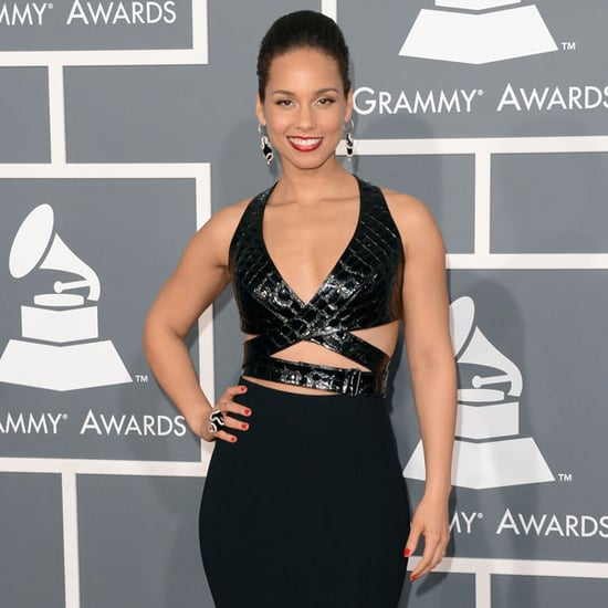 Alicia Keys | Grammys 2013 Red Carpet Dress