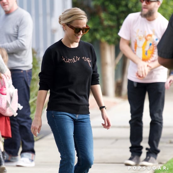 Reese Witherspoon Time's Up Sweater