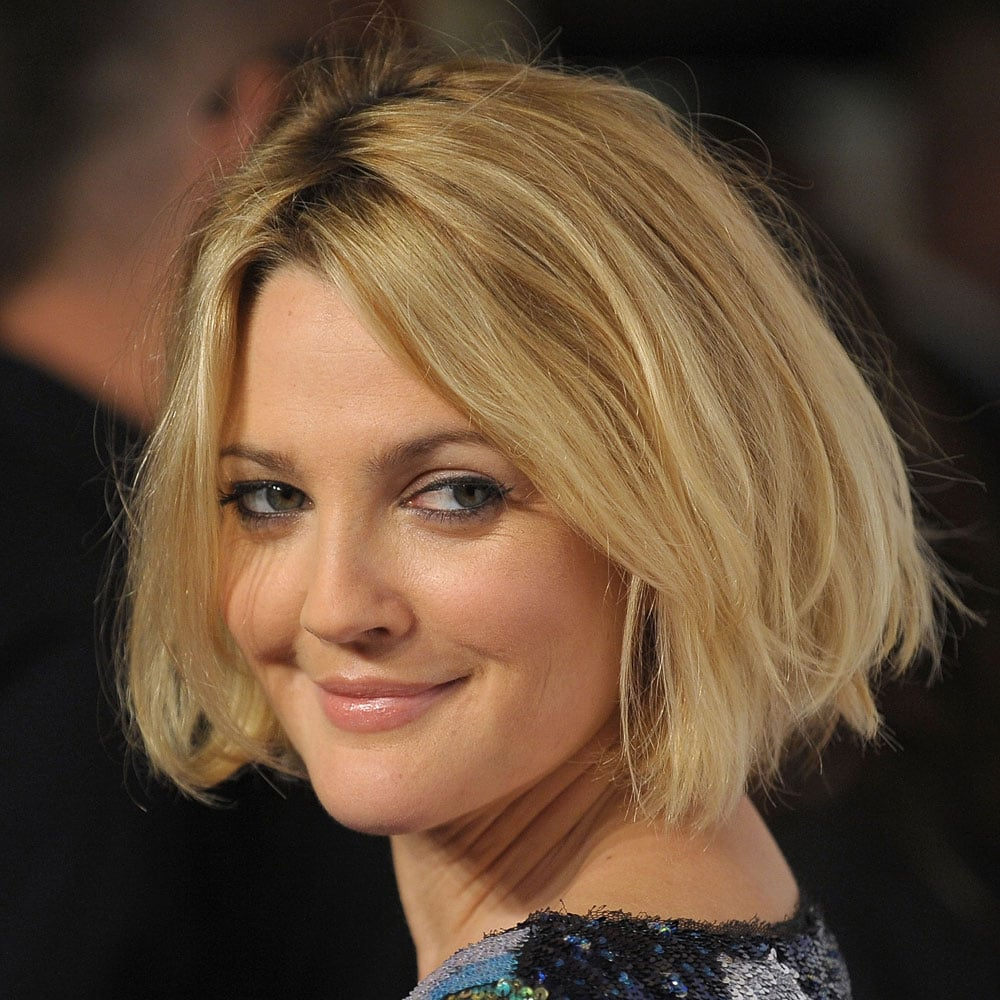 Drew Barrymore Pictures Of Celebrities With Bob Haircuts