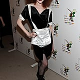 Evan Rachel Wood paid homage to The Rocky Horror Picture Show for a party in LA in 2010.