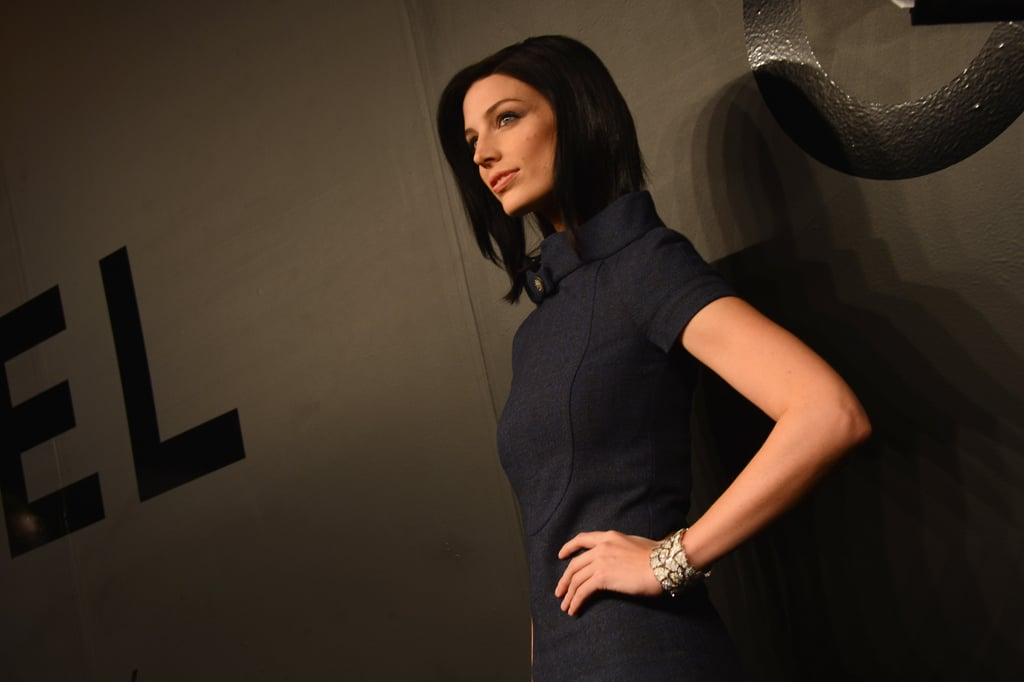 """Jessica Pare wore Chanel jewels at the 80th Anniversary Of The """"Bijoux De Diamants"""" Collection."""