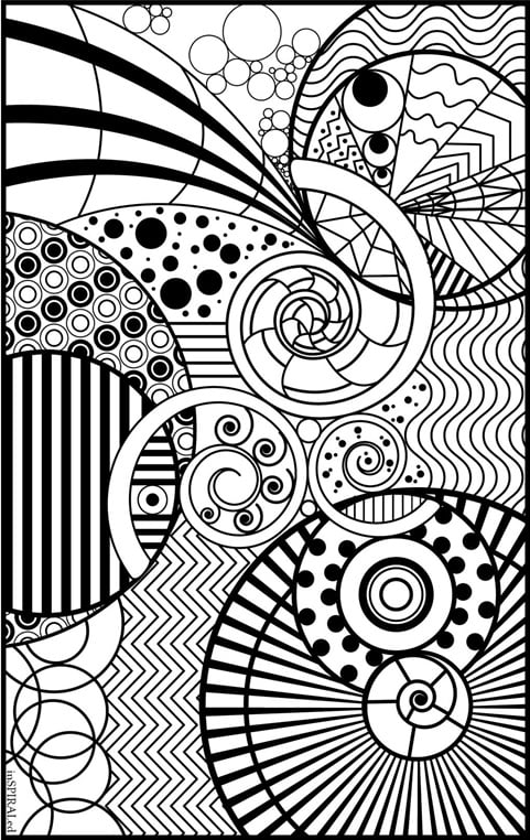 Intricate Design | Free Coloring Book Printables ...