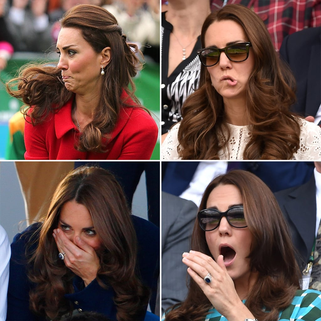 Kate Middleton's Funny Faces